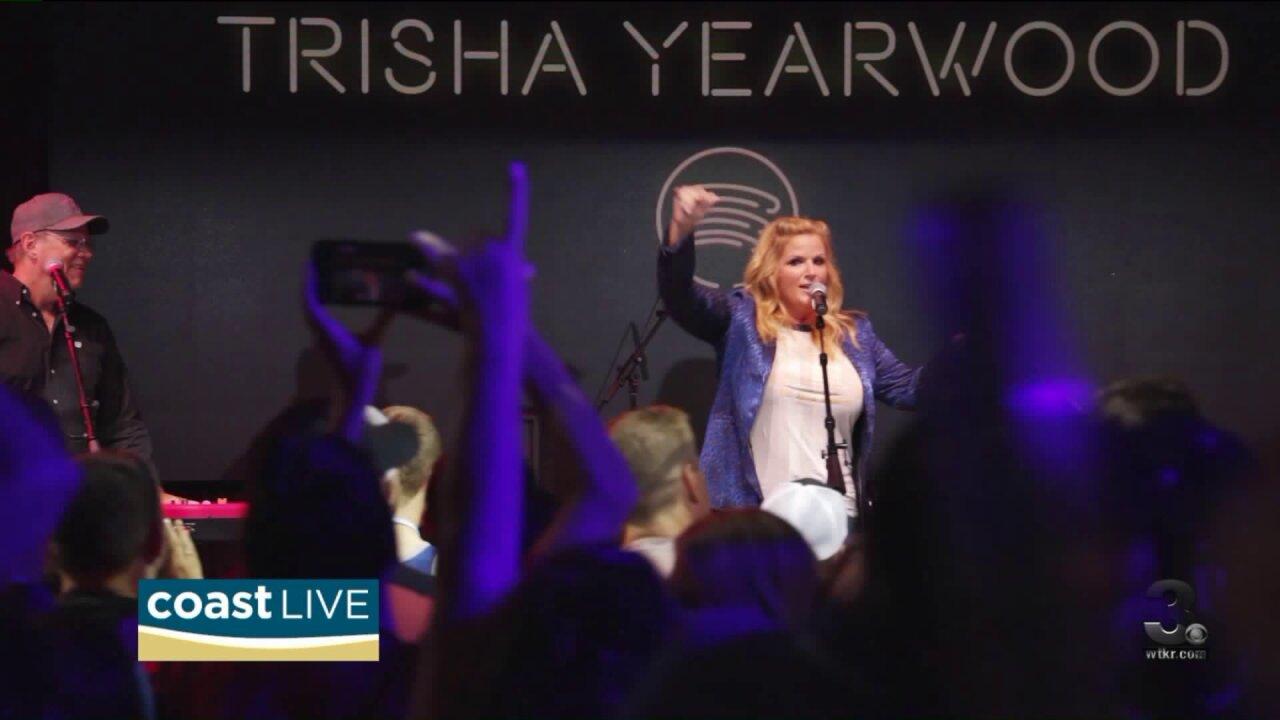 Trisha Yearwood's initiative to address gender inequality on CoastLive
