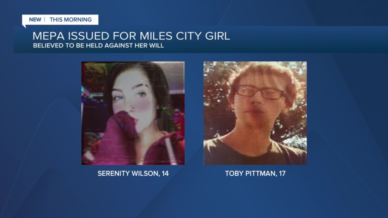 Missing Endangered Person Advisory issued for 14-year-old girl