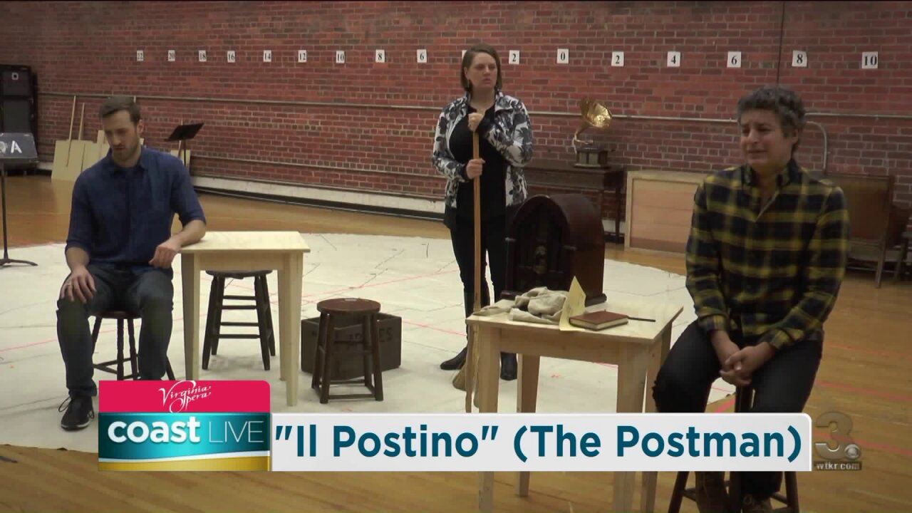 "Virginia Opera's production of ""Il Postino"" on CoastLive"