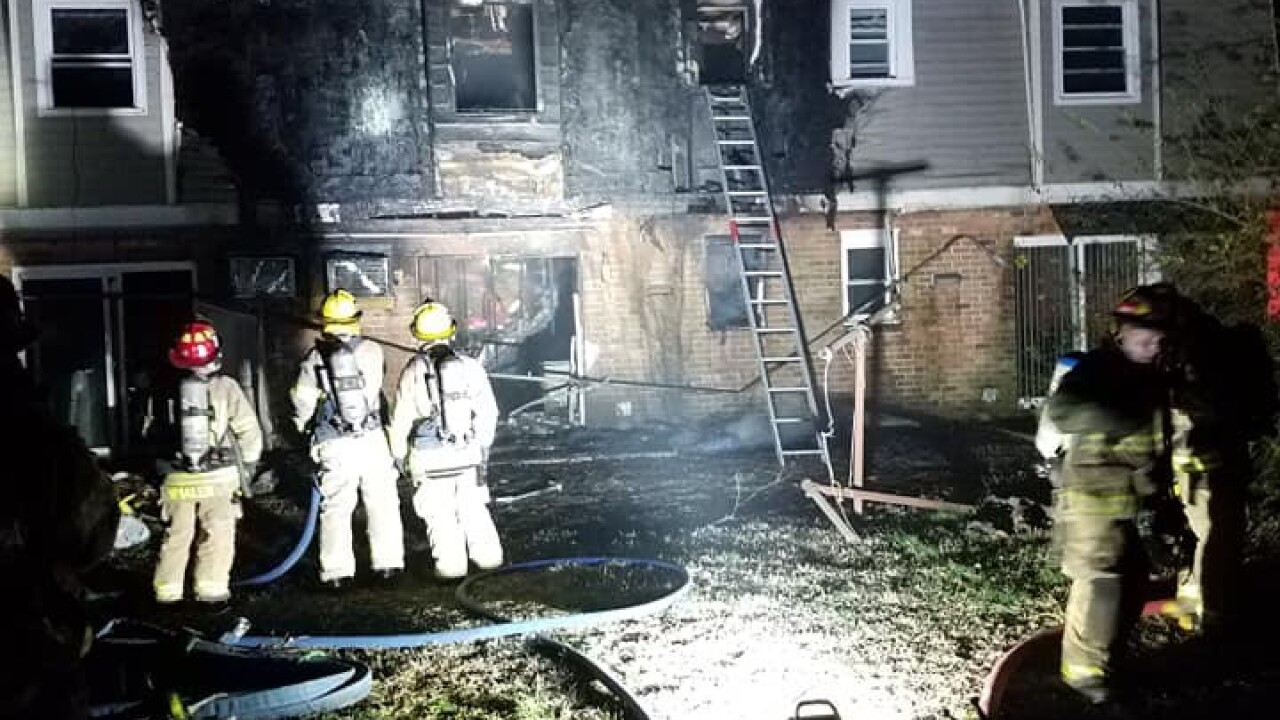 Minor injuries reported after firefighters respond to Portsmouth apartmentfire
