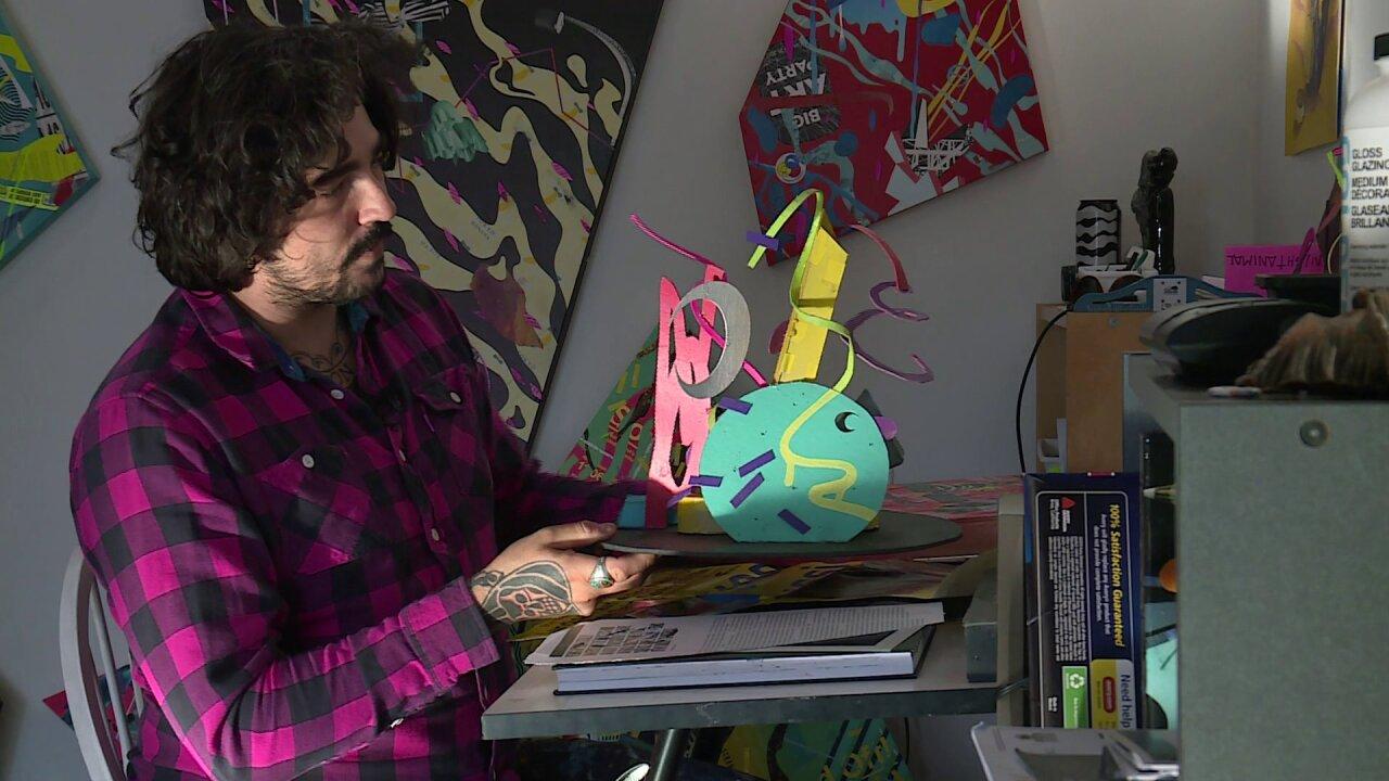 'Perfect Bound:' Former graffiti artist awarded $50,000 for sculpture on HullStreet