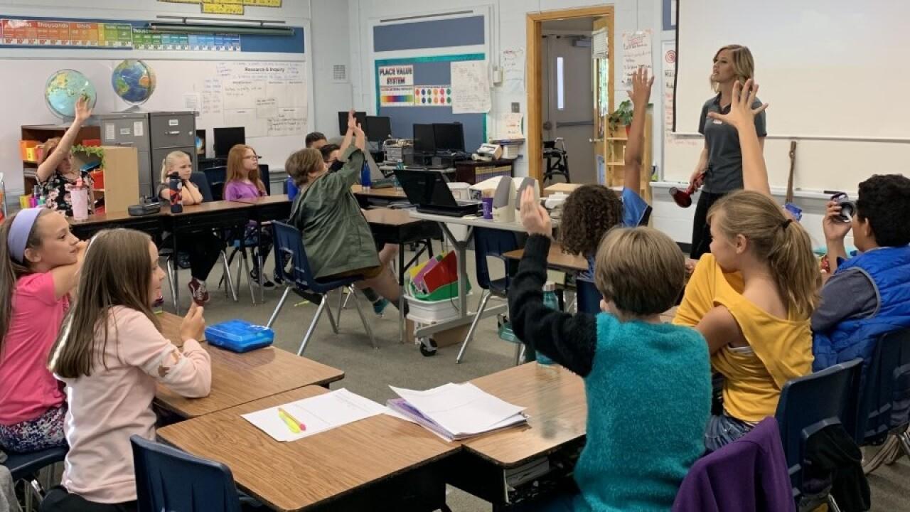 Stratton Elementary 5th grader Storm Safe
