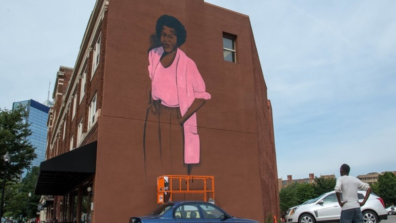 There's a new mural in town