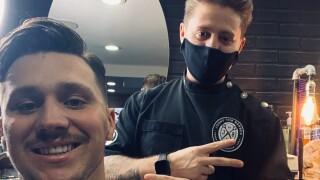 Ciffa cuts Josh Allen's hair