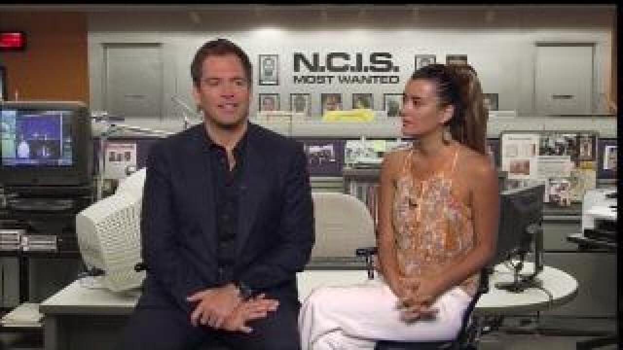 NCIS Season Premiere airs at 8 pm : Tony and Ziva talk about getting stuck in an elevator