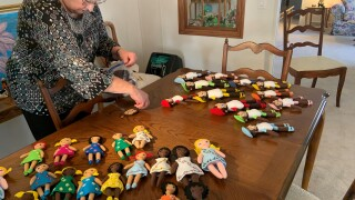Making a Difference: Woman makes dolls for children in honor of late husband