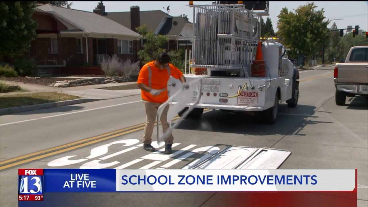 SLC gets ready for new school year with improvements to schoolzones