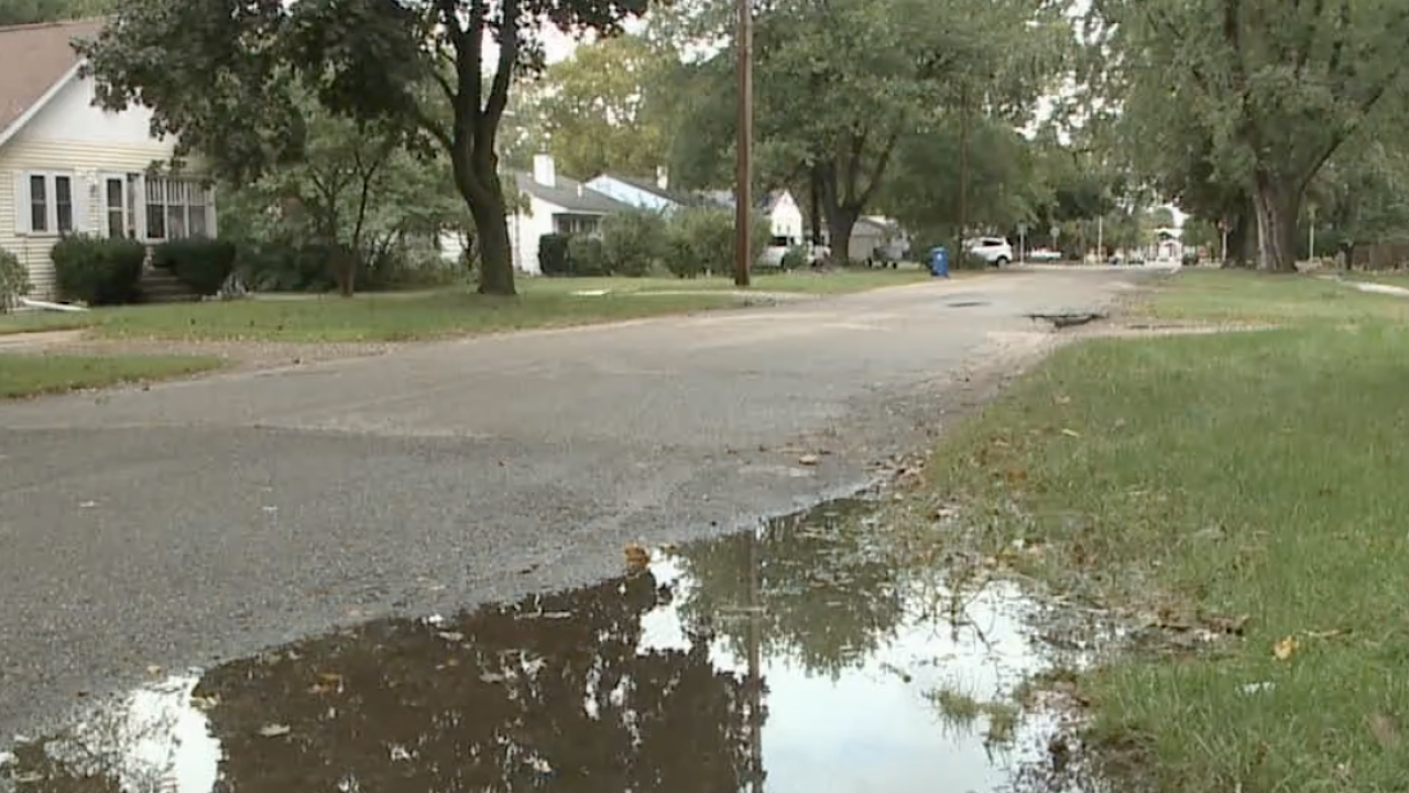 Flooding in Kalamazoo