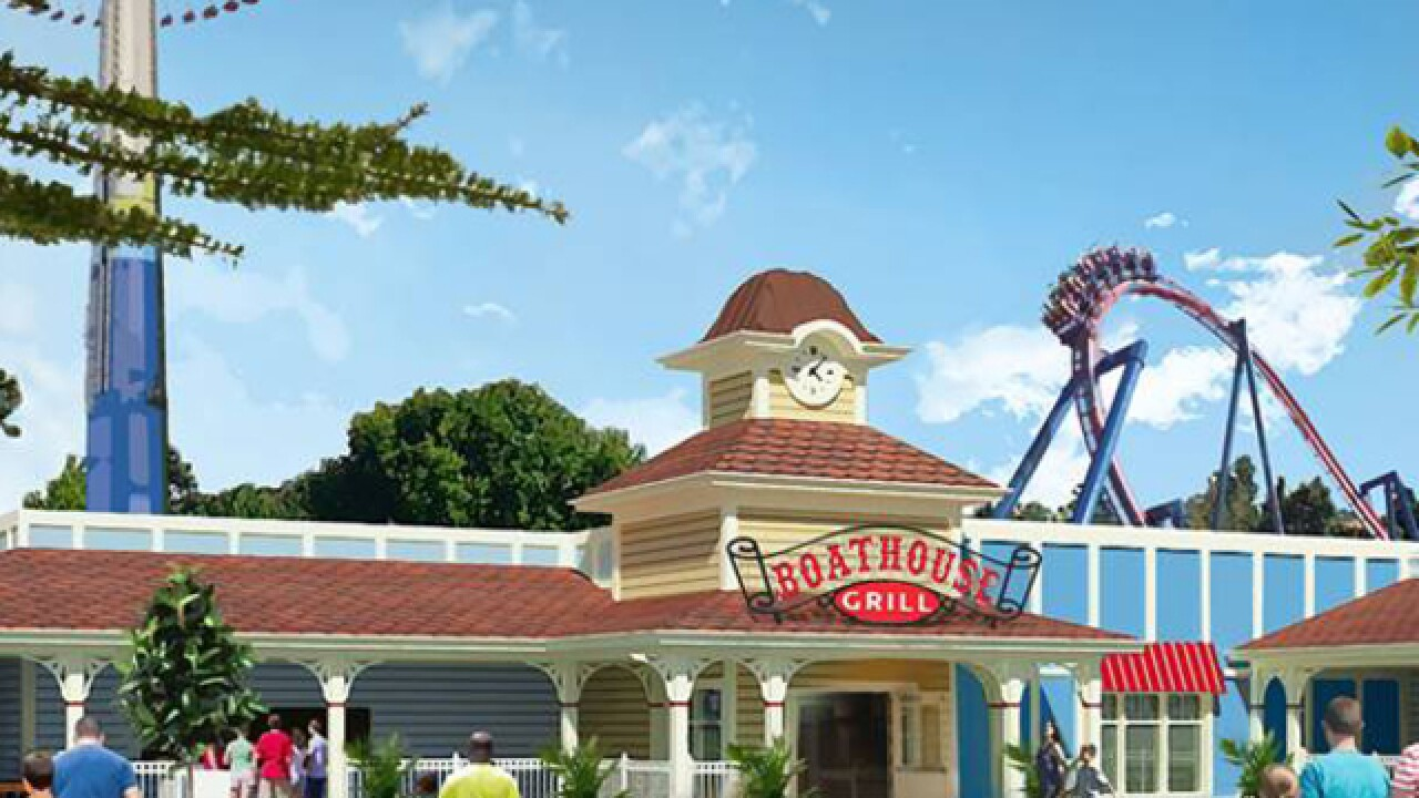 Worlds of Fun's newest restaurant will be its largest