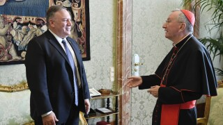 Vatican declines Pompeo's request for audience with Pope Francis, citing papal election policy