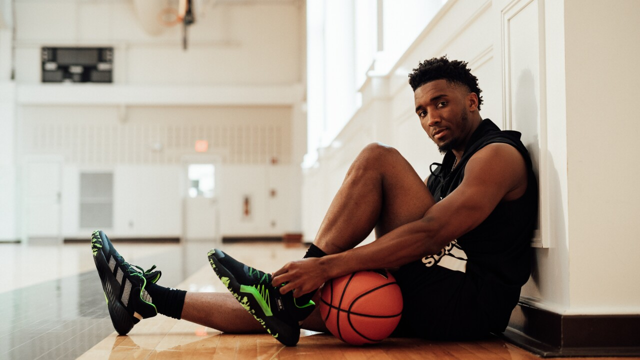 Donovan Mitchell debuts new Spider-Man inspired shoes from Adidas