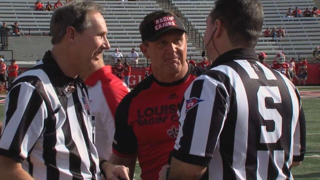 Cajuns face former head coach Hudspeth Saturday