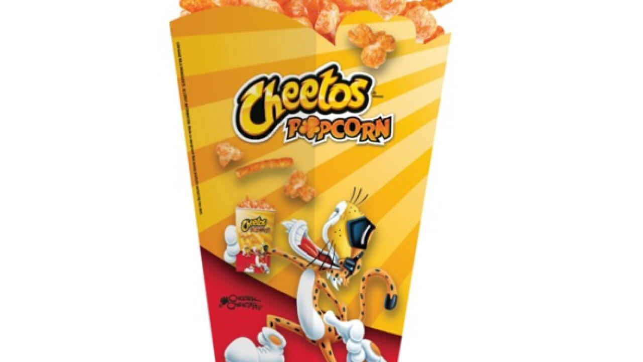 You can now enjoy Cheetos Popcorn at the movie theater