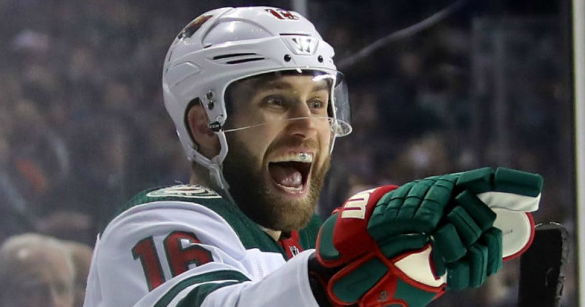 Jason Zucker S First Career Hat Trick Powers The Minnesota Wild