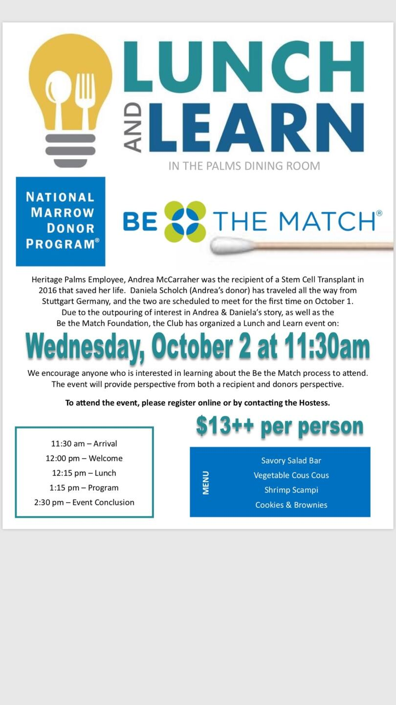 McCarraher Stem Cell Donor Event
