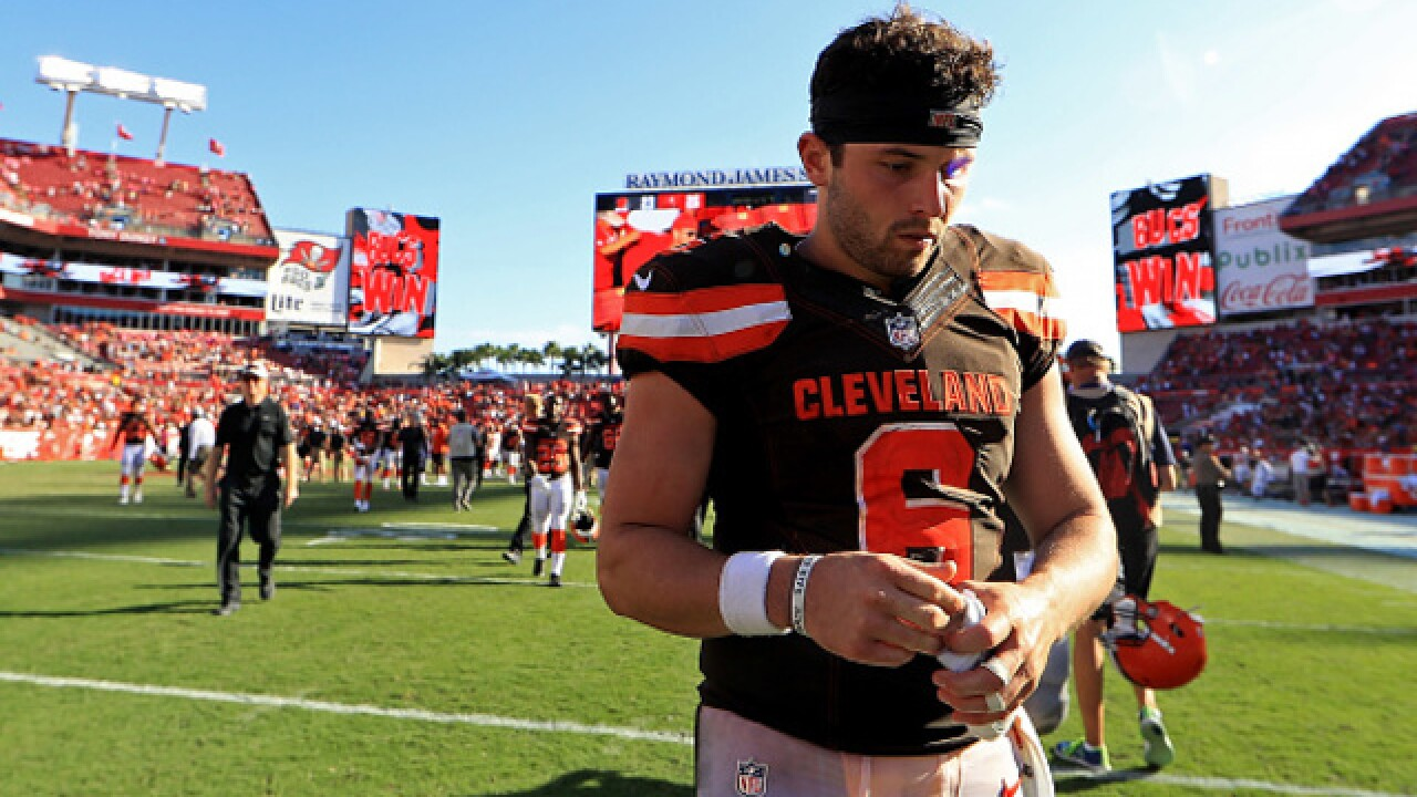 REPORT: NFL knows hit on Baker Mayfield should have been flagged
