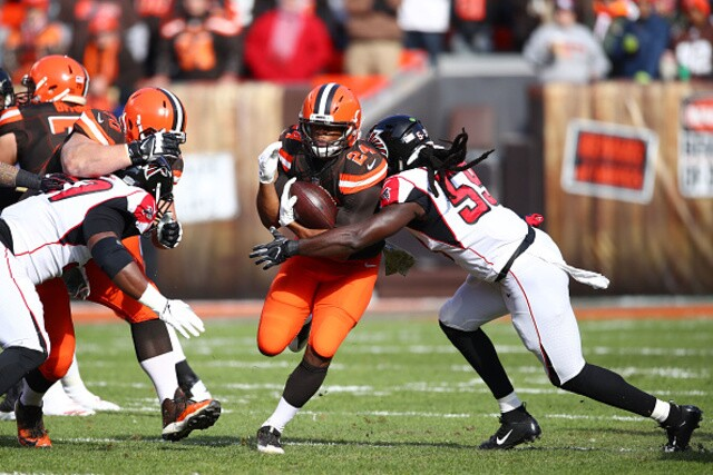 IMAGES: Cleveland Browns beat Falcons, 28-16