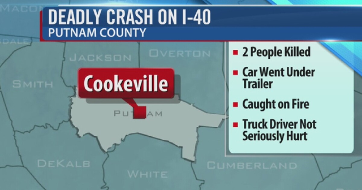 2 Killed In Crash On Interstate 40 In Putnam Co