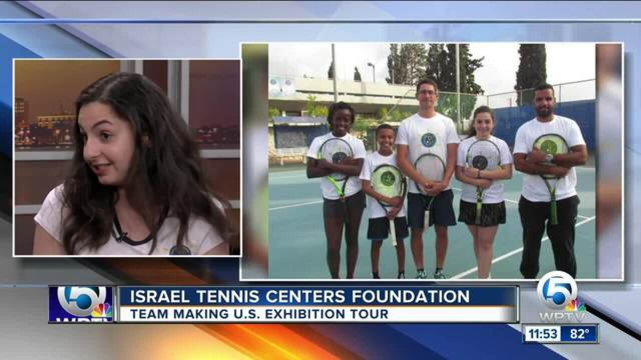 Israel Tennis Centers Foundation holding events in Florida
