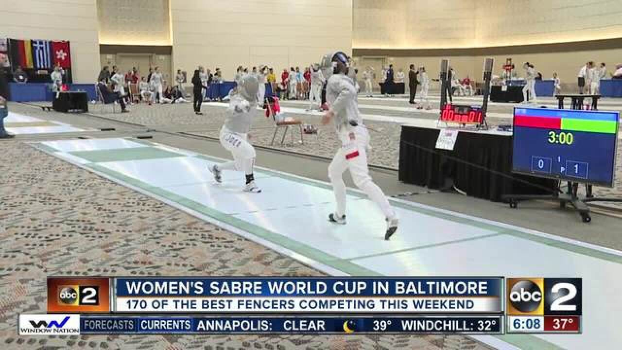 Women's Sabre World Cup comes to Baltimore