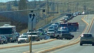 Three-vehicle crash in Great Falls