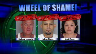 Wheel Of Shame Arrests: April 24th