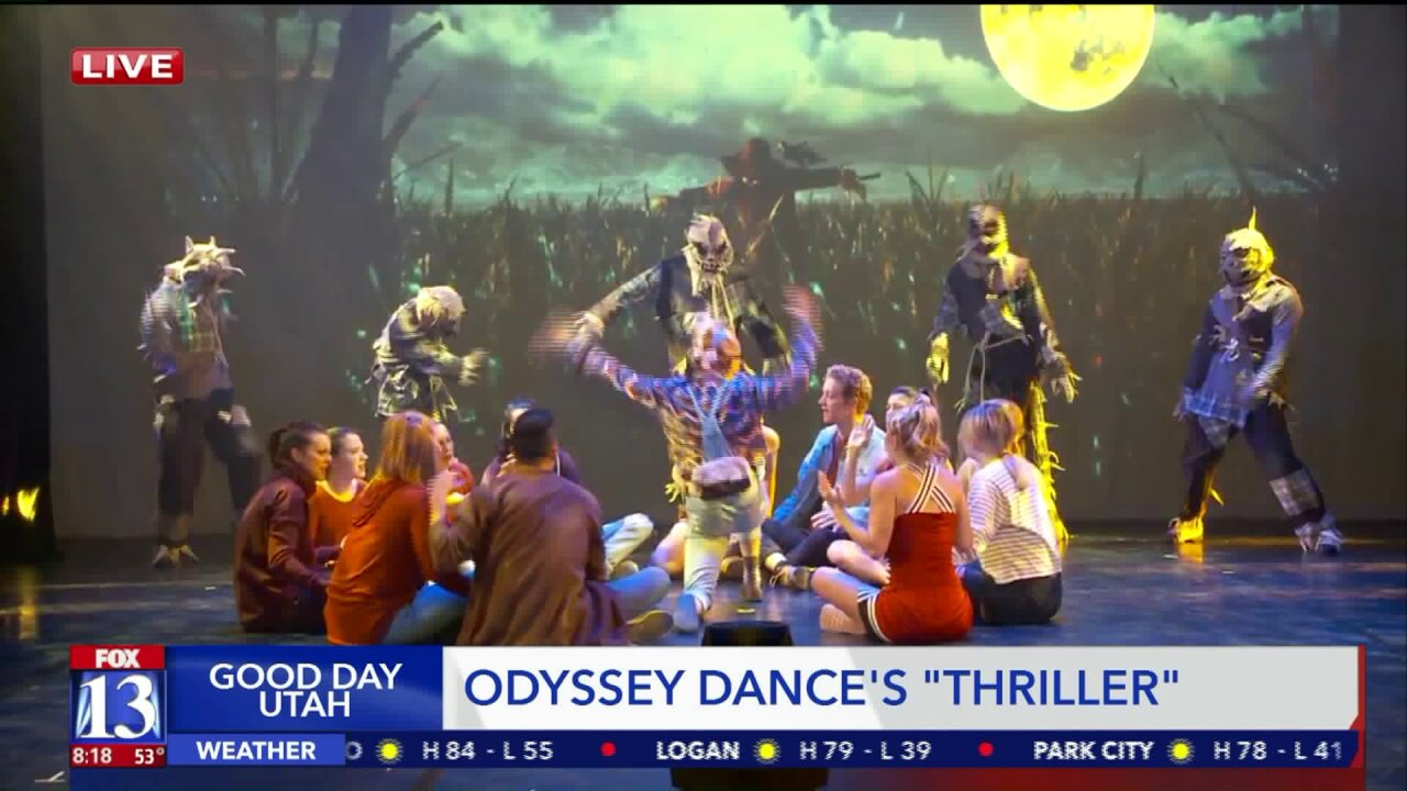 Annual Halloween tradition, Odyssey Dance Theatre's 'Thriller,' about to be staged in ParkCity
