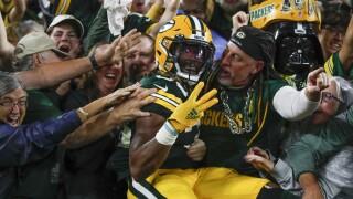 APTOPIX Lions Packers Football