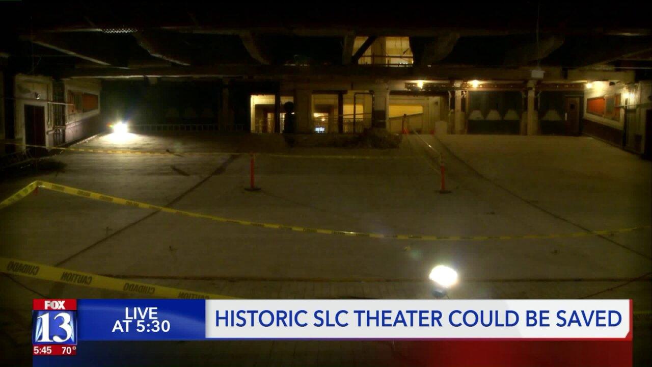 Historic Utah Theater could besaved