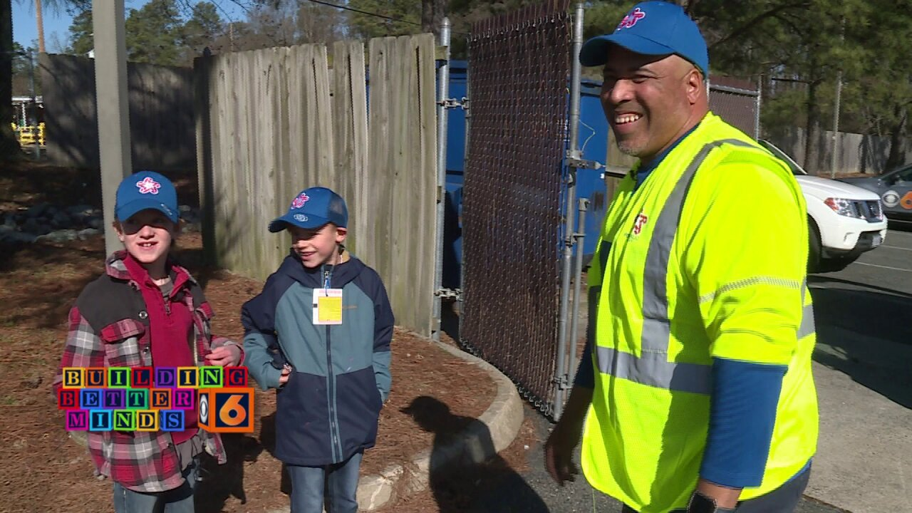 Unlikely friendship helps recycling truck driver teach Henrico student lessons beyond theclassroom