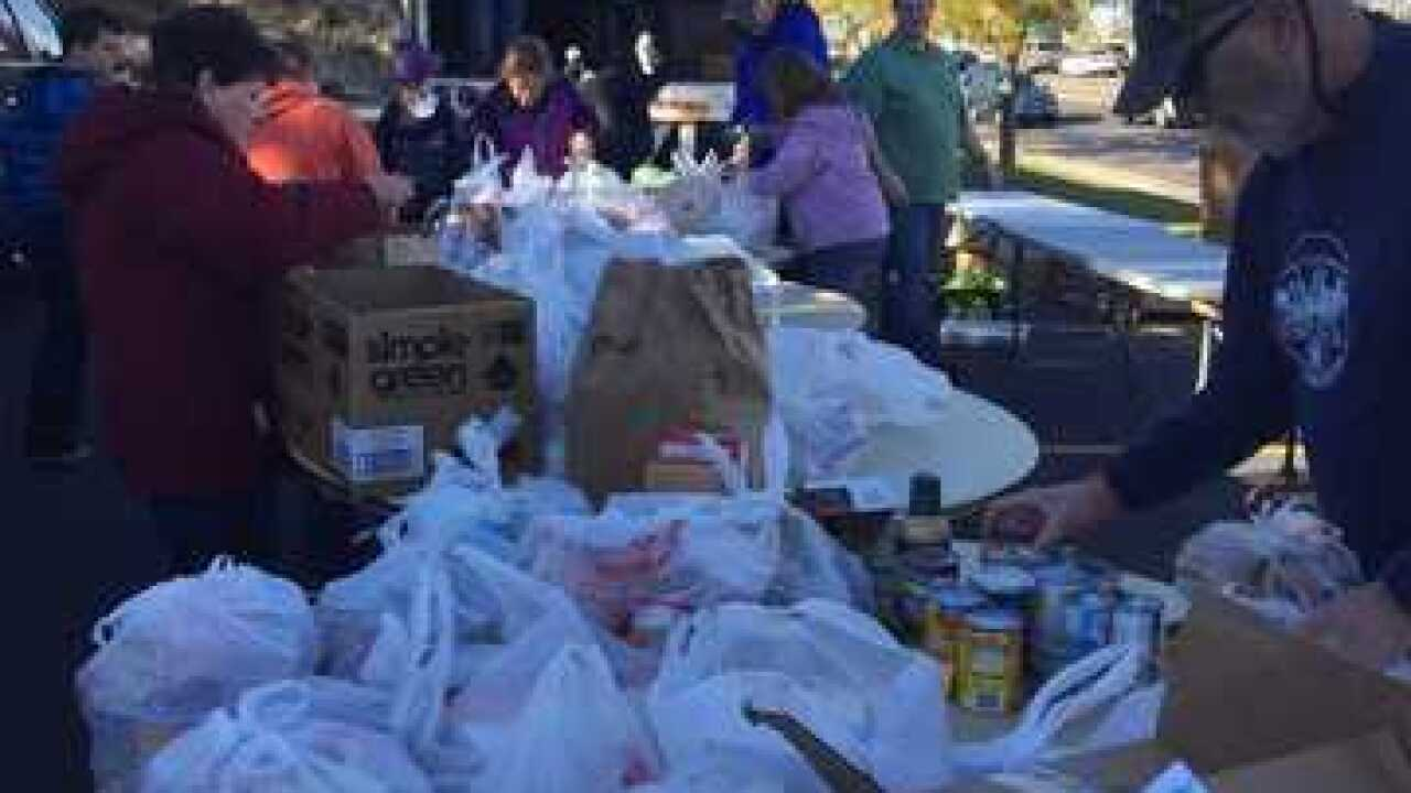 Boy Scouts collect nearly 49 tons of food