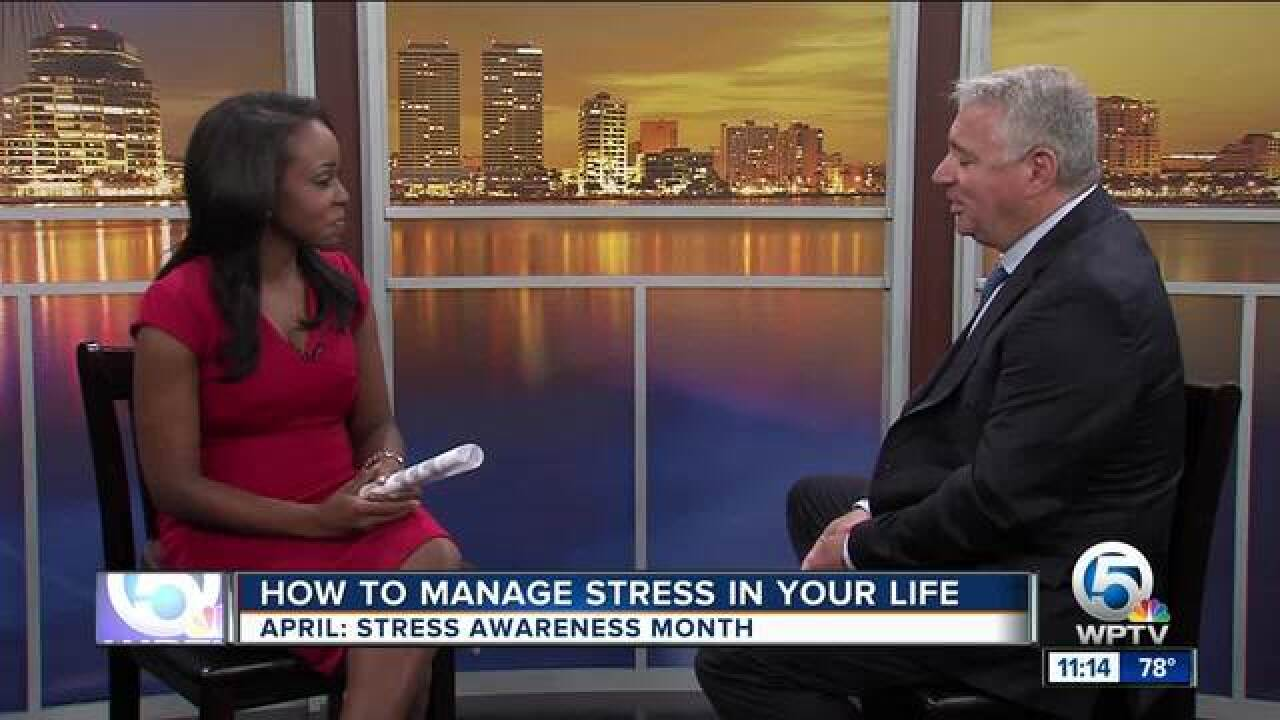 Advice on managing stress in your life