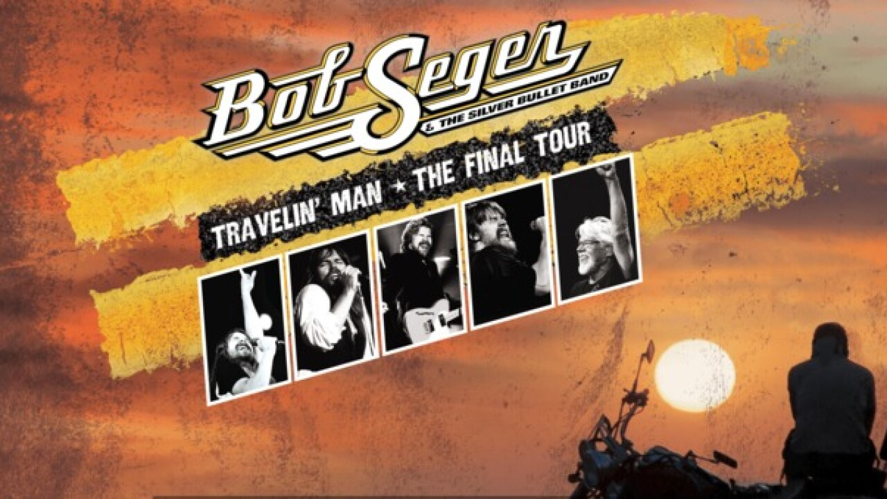 Bob Seger announces dates for final tour, 'Travelin' Man Tour'