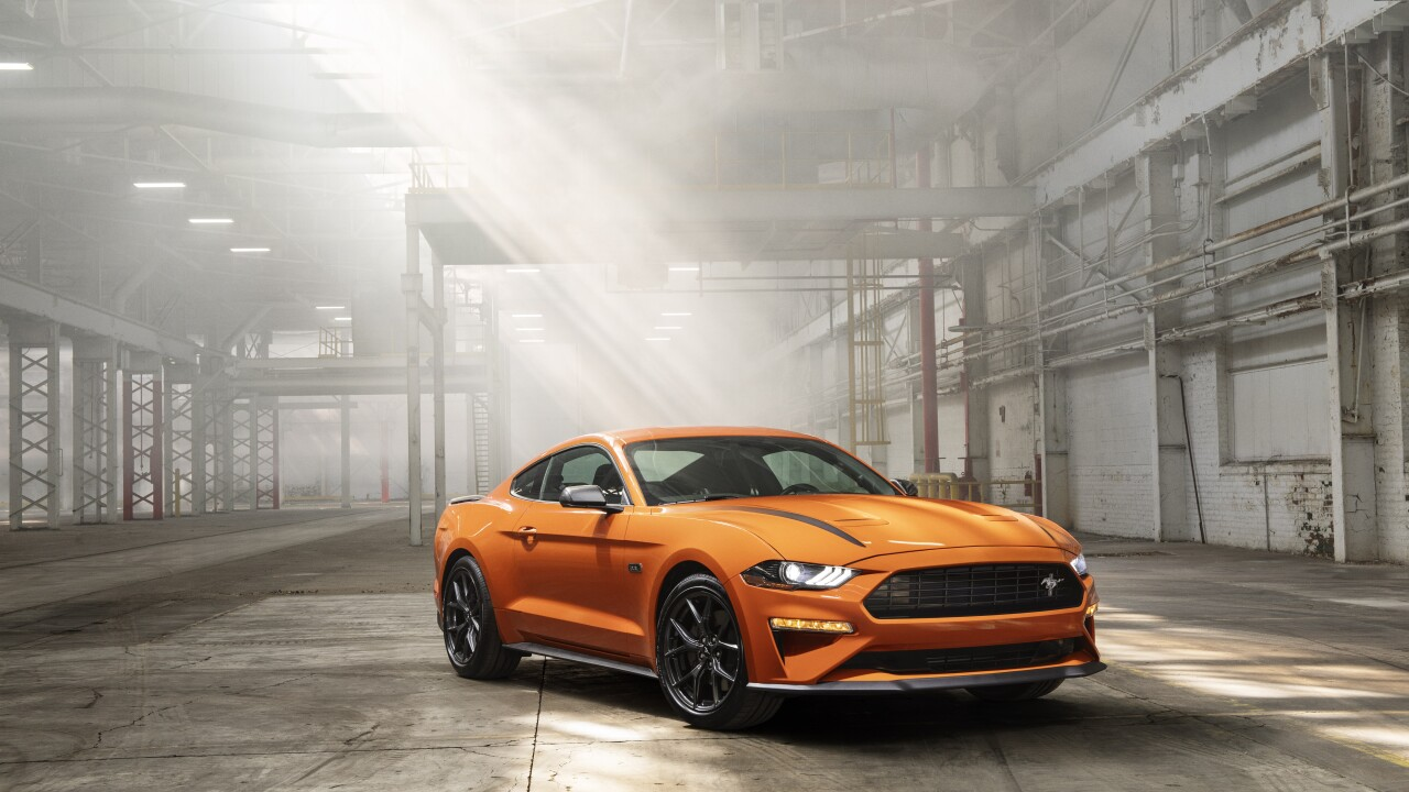 2020 Ford Mustang EcoBoost package