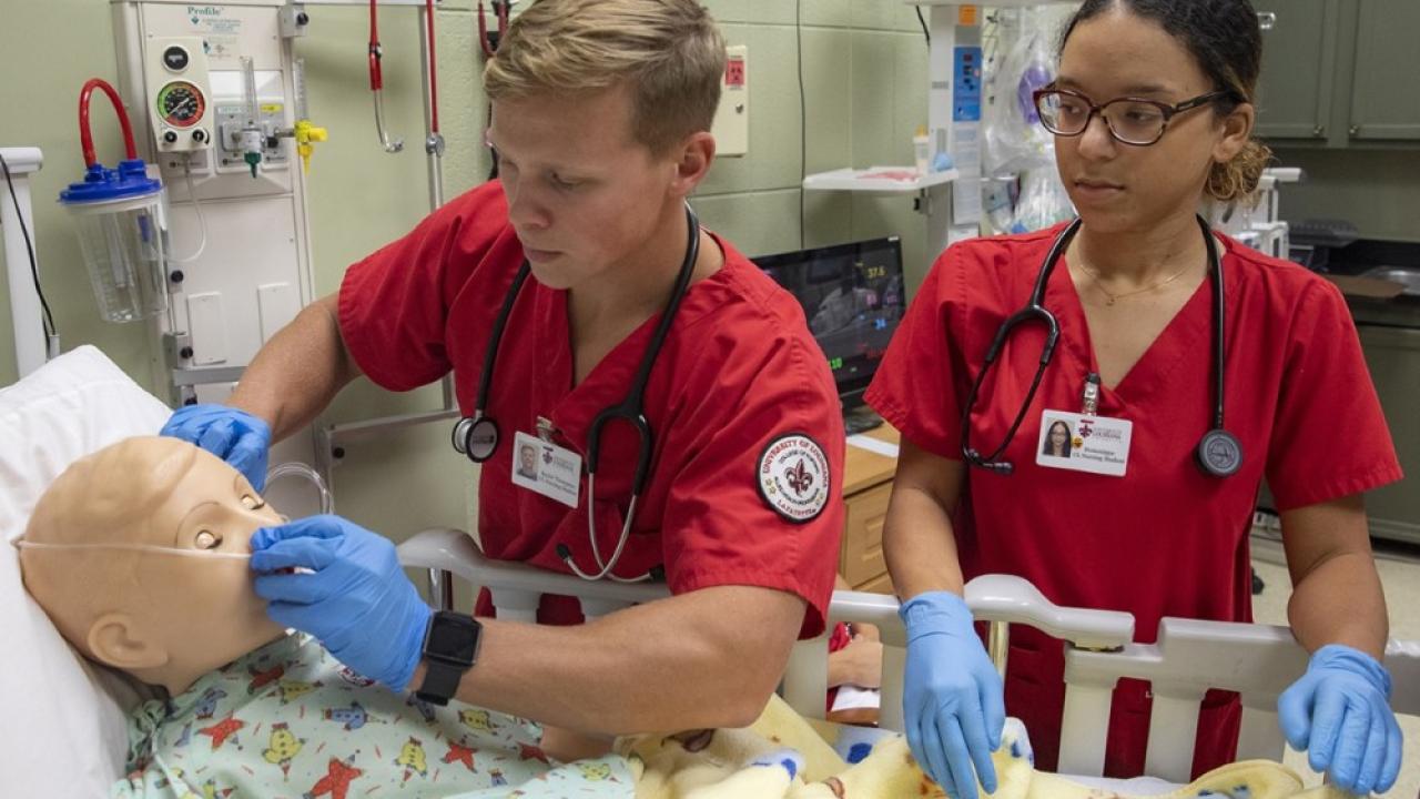 UL Lafayette nursing students.png