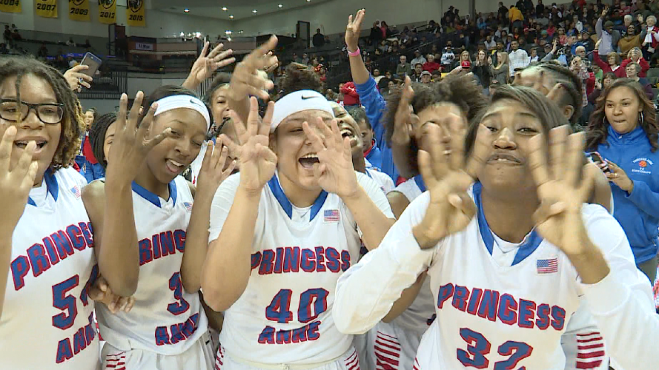 Princess Anne wins 4th straight state championship; Bethel falls to L.C. Bird
