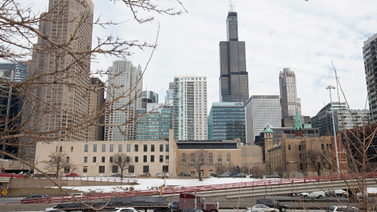 Chicago lived up to its Windy City' nickname