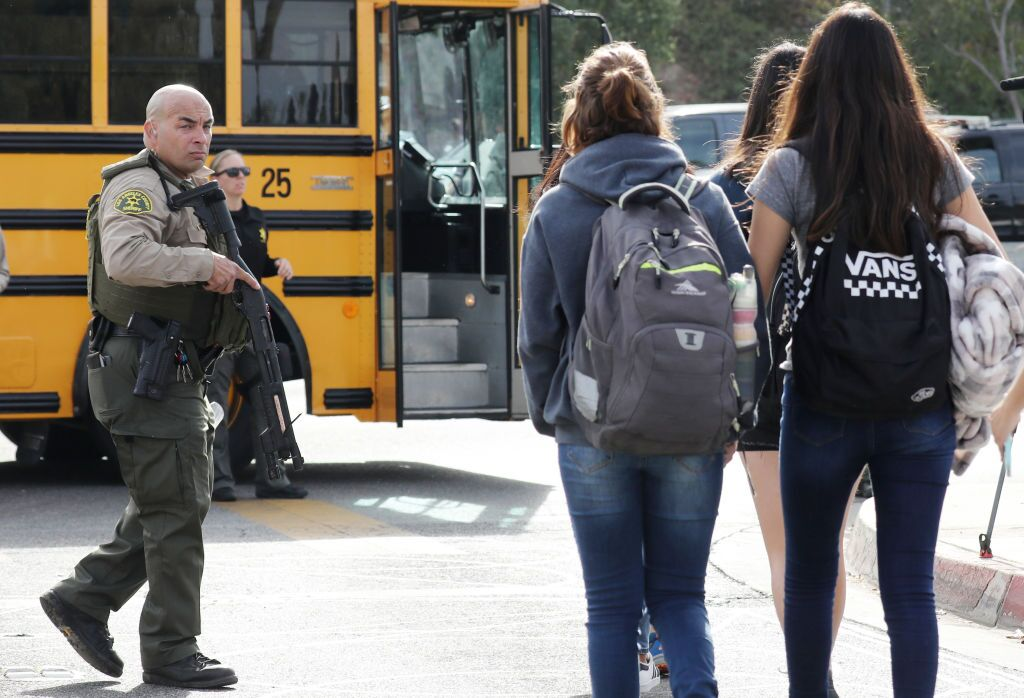 Several Injured In School Shooting In Santa Clarita, California