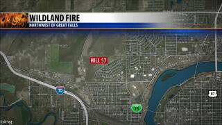 Hill 57 fire burns 80 acres; no injuries
