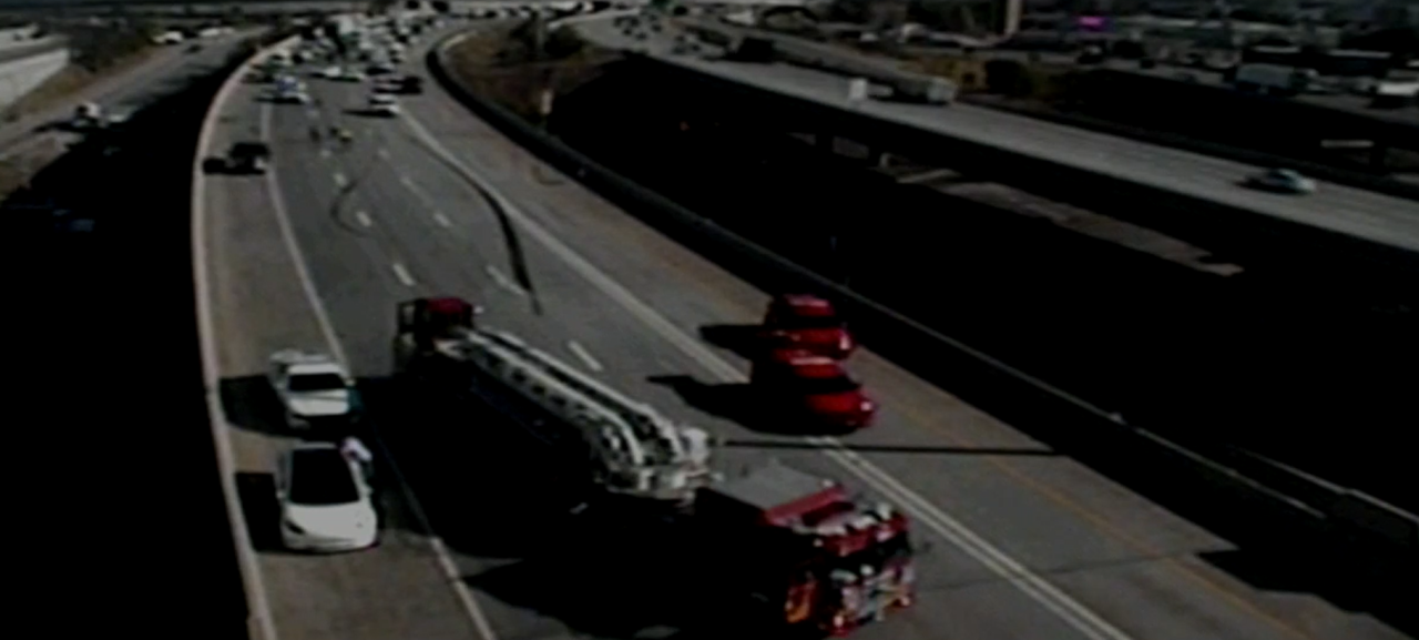 I-15 truck accident