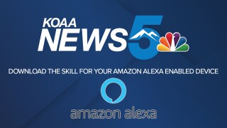 Download the KOAA News5 skill for Amazon Alexa.