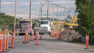 Davis Lane closed due to construction