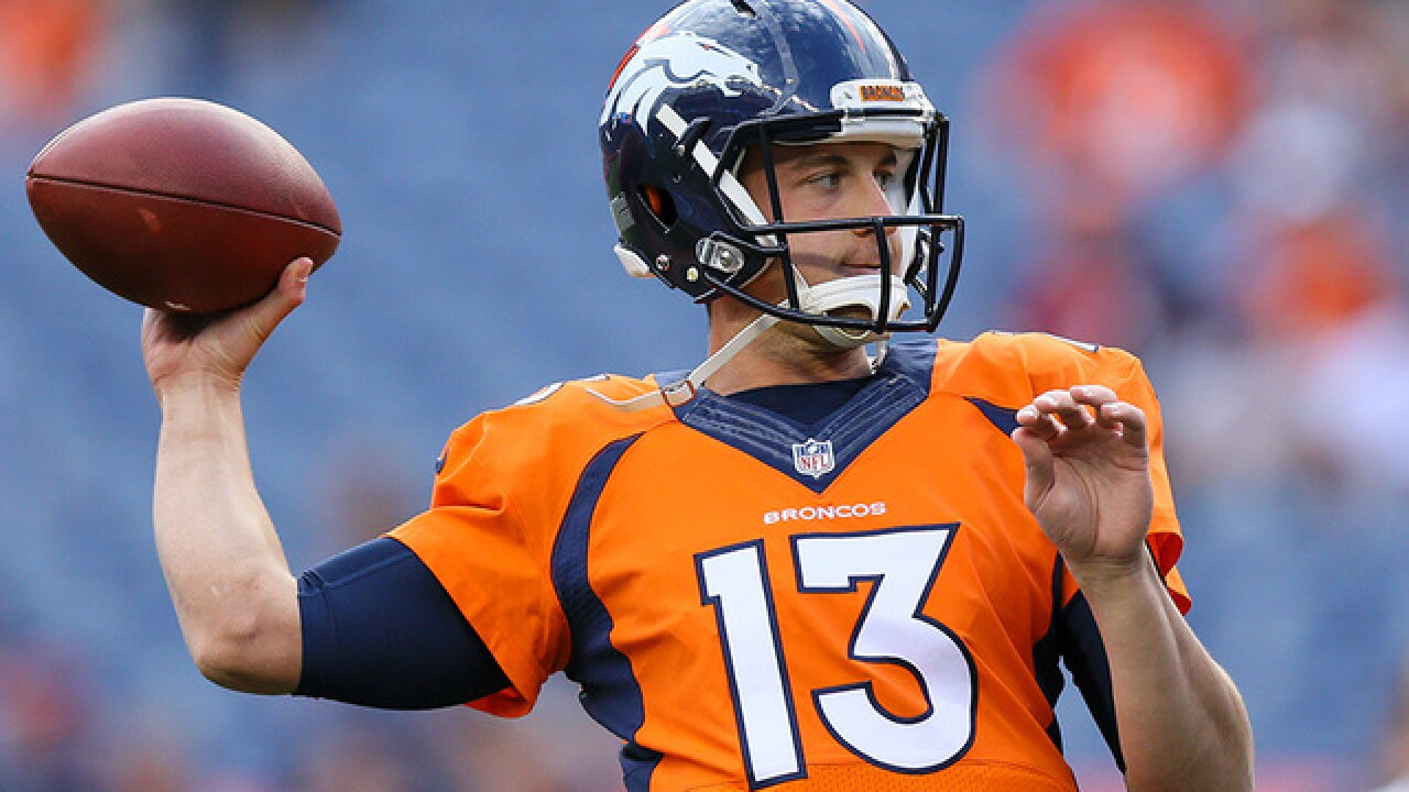 Broncos' Trevor Siemian appears to secure job in win against Rams