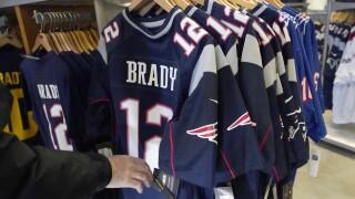 New England Brady Football
