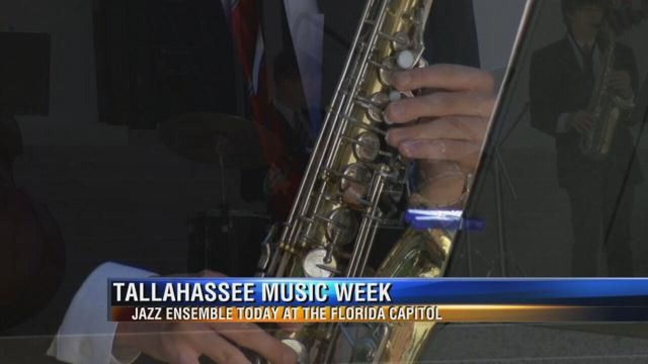 Raa Middle School Jazz Band Performs for Tallahassee Music Week