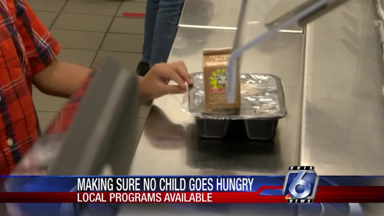 Food bank, CCISD partner on feeding hungry kids