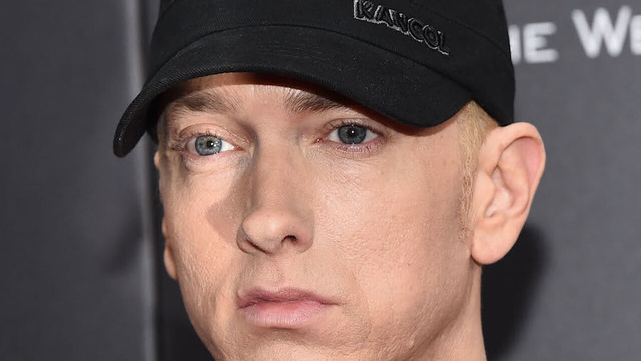 Eminem drops surprise album 'Kamikaze' at midnight
