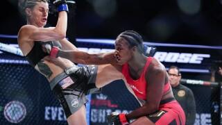 Claressa Shields, Brittney Elkin PFL MMA