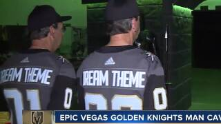 Twins create Vegas Golden Knights man cave
