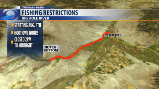 Fishing restrictions start Thursday for Big Hole River